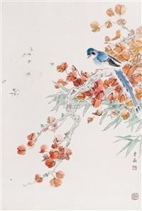 花鸟 by liu dongying