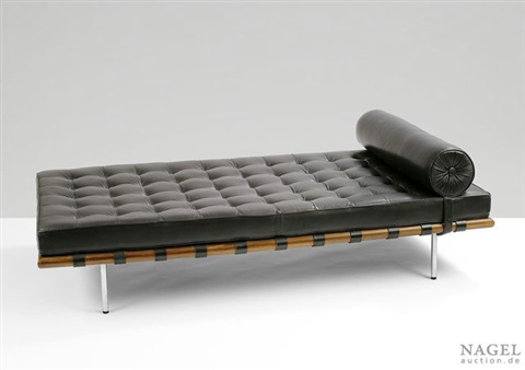 Liege Modell 258 Sogenanntes Barcelona Daybed By Ludwig Mies Van