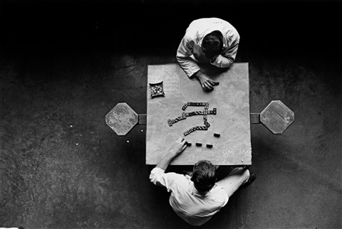 the domino players walls unit texas department of corrections huntsville by danny lyon on artnet. Black Bedroom Furniture Sets. Home Design Ideas