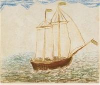 segelfartyg by carl fredrik hill