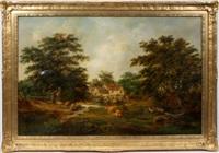 a suffolk farmstead by robert burrows