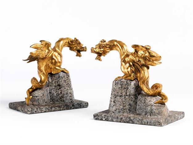 drachenfiguren pair by pietro tacca