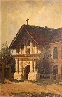 mission dolores, san francisco by manuel valencia