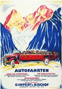 autofahrten über die alpenpässe by emil huber