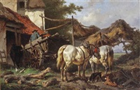 outside the stable by wouter verschuur the elder