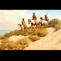 comancheria west by harvey william (bud) johnson
