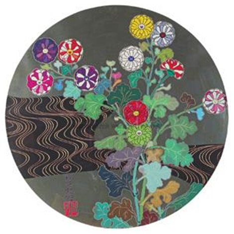 无题 丝网 版画 版数 untitled by takashi murakami
