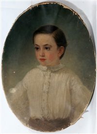 portrait of a boy by thomas hicks