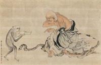 罗汉 by ren bonian