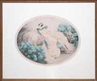 les hortensias (hydrangeas) by louis icart