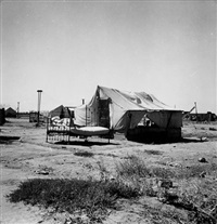 california home of oklahoma drought refugees by dorothea lange