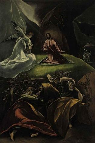 the agony in the garden by el greco