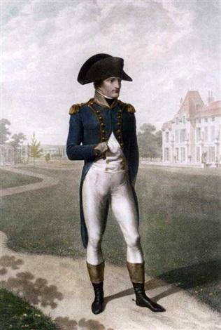 napoleon à la mal maison after jean baptiste isabey by charles l lingée