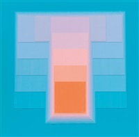 color sound - blau/orange by karl gerstner