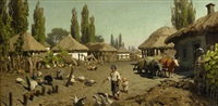 a village in the ukraine by petr alexanderovich sukhodol'sky