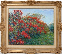 floral landscape by antonio alcantara