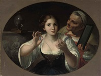 an allegory of vanity by angelo caroselli