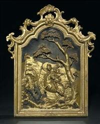 hl. georg im kampf mit dem drachen by johann joseph christian