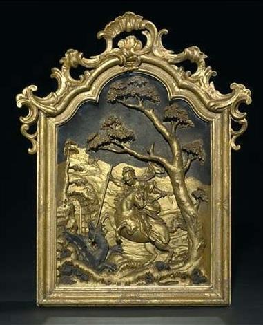 hl georg im kampf mit dem drachen by johann joseph christian