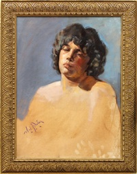 unfinished portrait by william frederick foster