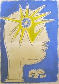 man with star by jean cocteau