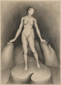 Edward Weston (+ Nude; 2 works), 1927