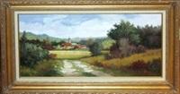 landscape scene by j.c. seo