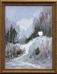 winter by fernand labelle