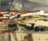 spanish landscape by martyl schweig langsdorf