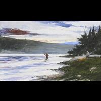 fly fisher by john swan