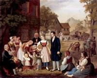 dorotheas abschied by heinrich maria von hess