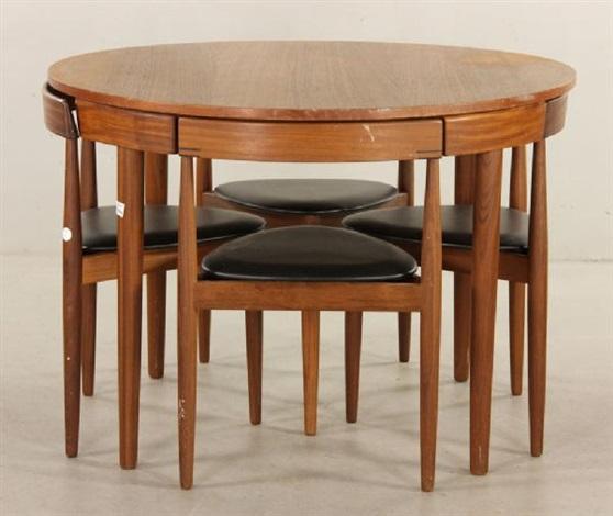Teak Dining Set By Hans Olsen