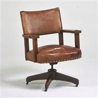 swivel desk chair #535 by charles limbert