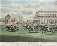 the race for the st. leger stakes of 1812, on doncaster course by clifton thompson