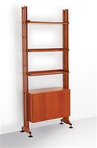 una libreria lb 10 by franca helg and franco albini