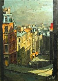 rue du mont-cenis, montmartre by michel sementzeff