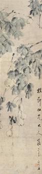 依样葫芦 立轴 纸本 by xu gu