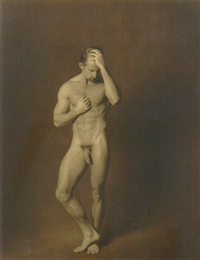 untitled - (2) male nudes by craig cowan