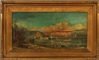 shoreline landscape by robert hopkin