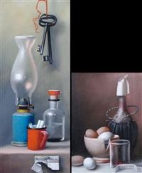 natura morta (2 works) by proferio grossi