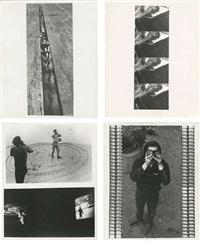 binocular zoom (+ 3 others; 4 works, various sizes) by dan graham