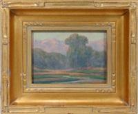 a california springtime landscape by william dorsey