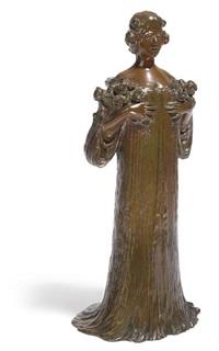 robed maiden by victorin sabatier