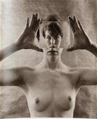 reducing glass - billy by ruth bernhard
