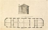 projekt för ombyggnad av drottningholms flygeln (design) by carl fredrik adelcrantz