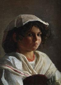 ritratto di bambina by michele cammarano