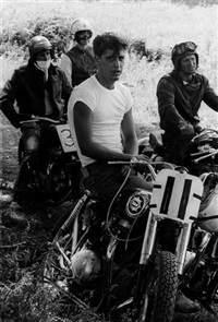 at mc henry, illinois, from the series bikeriders by danny lyon
