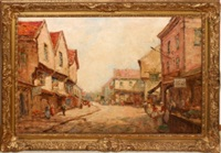 the shambles york by dennis ainsley