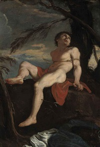saint sebastian by (veneto) bartolommeo