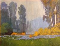 wildflowers and eucalyptus by jesse don rasberry